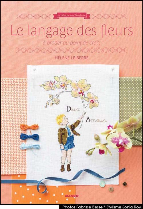 """"""" Le langage des fleurs """" éditions Mango"""