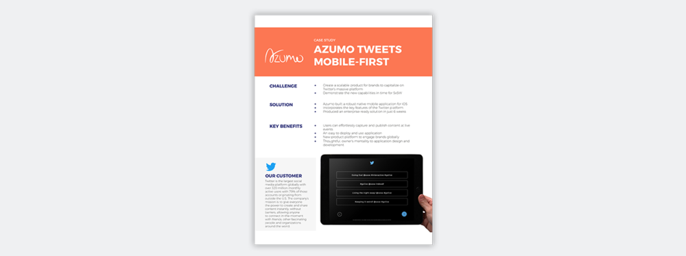 twitter case study azumo