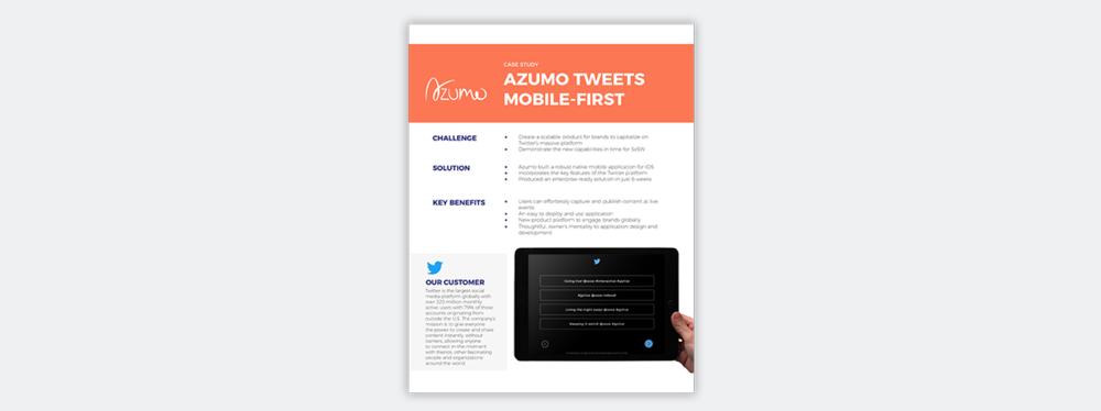 azumo case study twitter