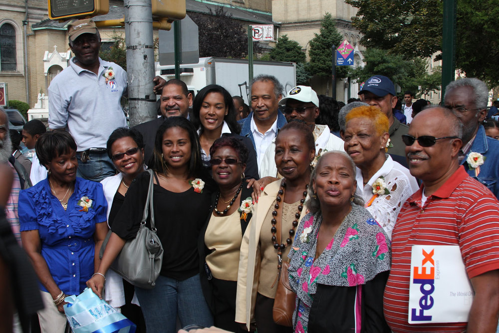IN 2007 the  Northeast corner of Brooklyn Avenue and St. John's Place was named  Carlos Lezama Way.  :