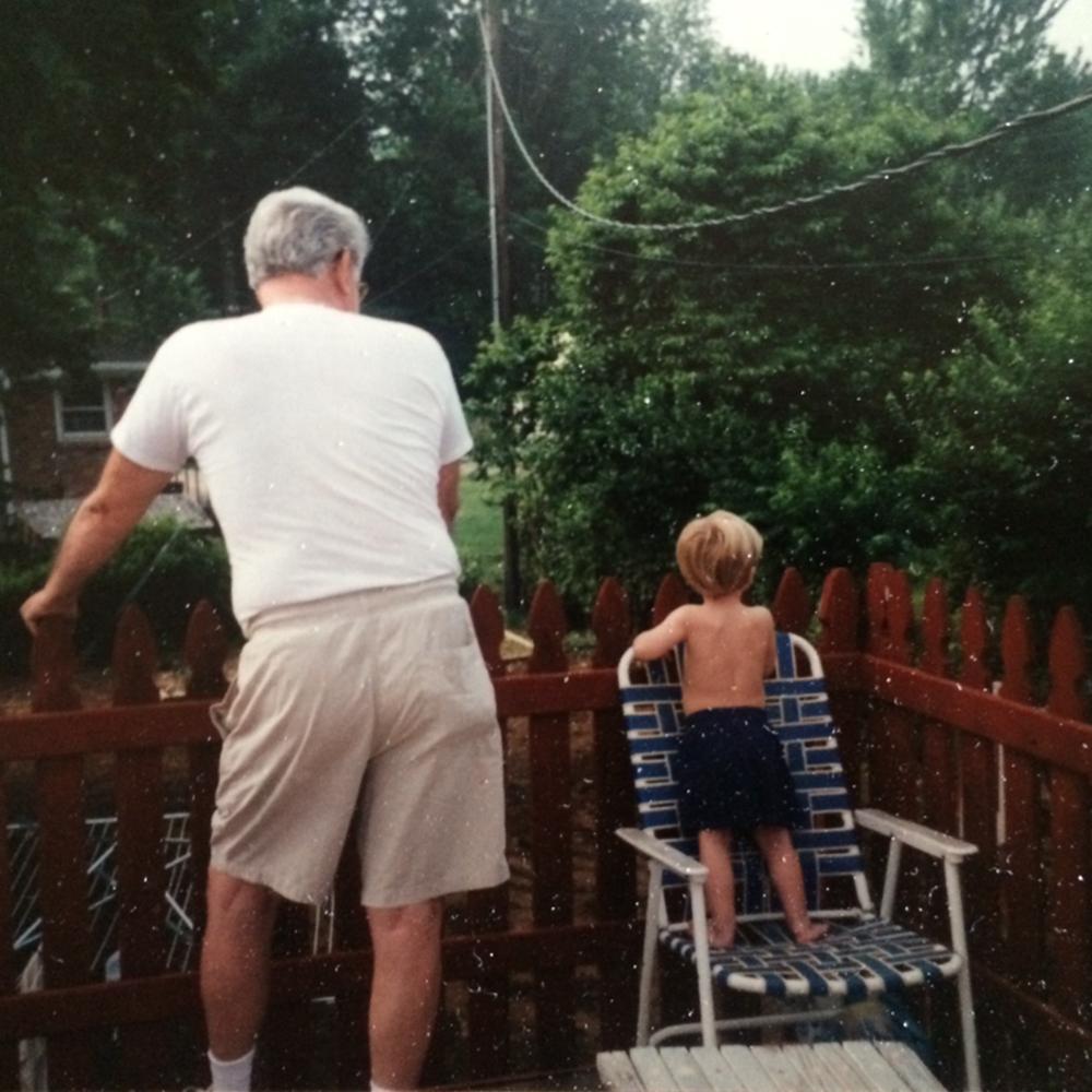 """Always helping my grandpa watch over the neighborhood"" – Dallas, on growing up in Cincinnati"