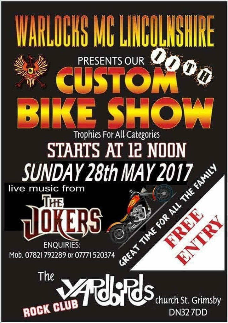 Warlocks custom bike show