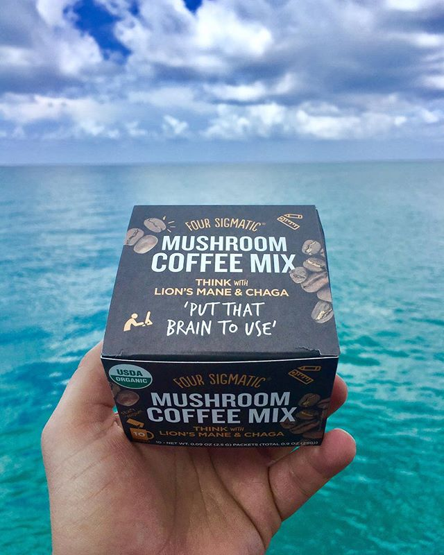 Most necessary after a long holiday weekend. Nothing like a little lions mane and chaga from @foursigmatic to get us back on track 🍄💪🏽 #foursigmatic #funguys #mondaymotivation photo: @tysonsadler