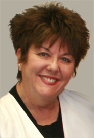 Robin Sullivan, licensed aesthetician at Dr. Flaiz's office.