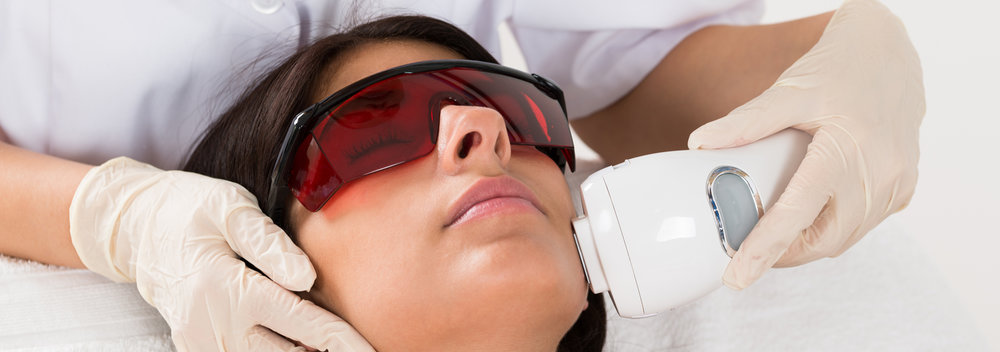 Laser hair removal at Dr. Flaiz's office