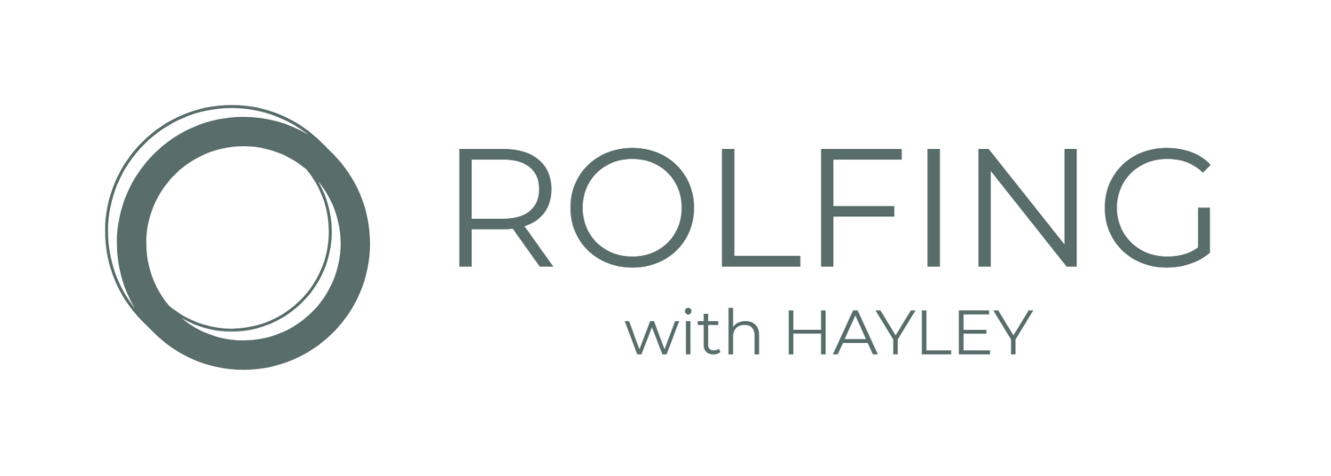 Rolfing with Hayley
