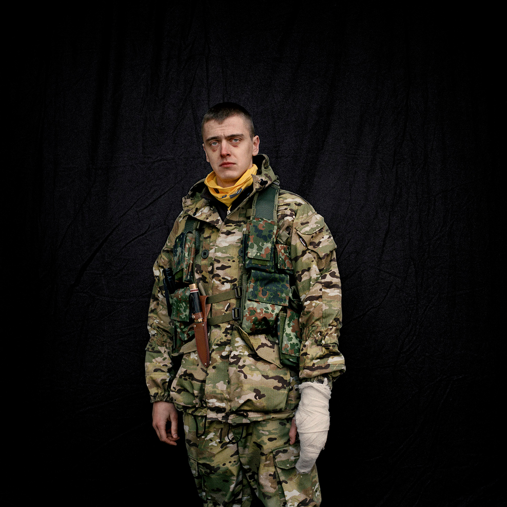 Maidan — Portraits from the Black Square    Anastasia Taylor-Lind GOST, 2014