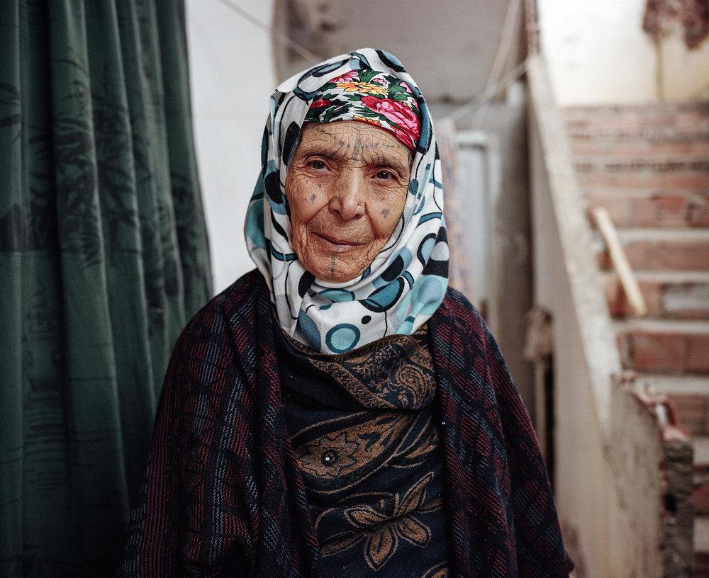 YUMNA AL-ARASHI  |   www.yumnaaa.com   |   @yumnaaa   From a project exploring the history of facial tattoos in North African women.  [ HuffPost ]