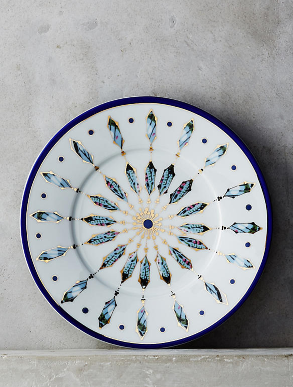 8.  Dessert Plate