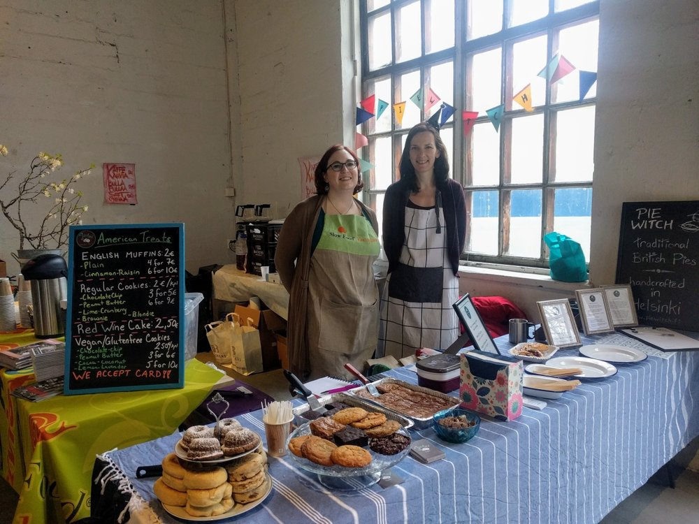 pie witch and jenky's cafe at fiskars spring market, 25 & 26 March 2017