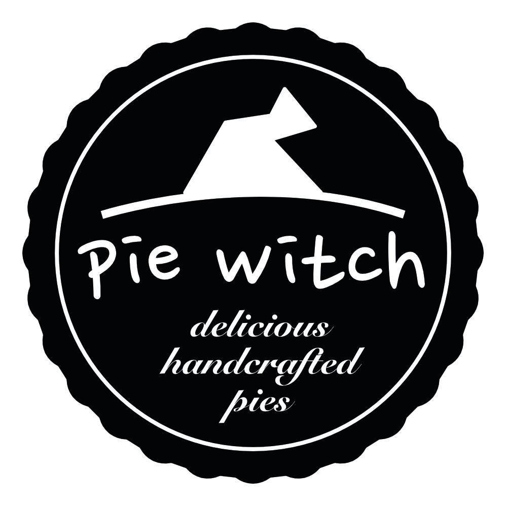 Pie Witch logo BW