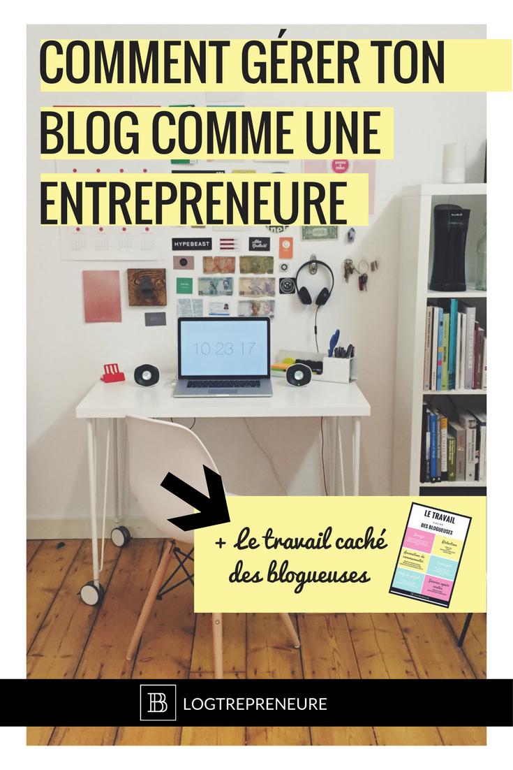 comment gérer ton blog comme une entrepreneure
