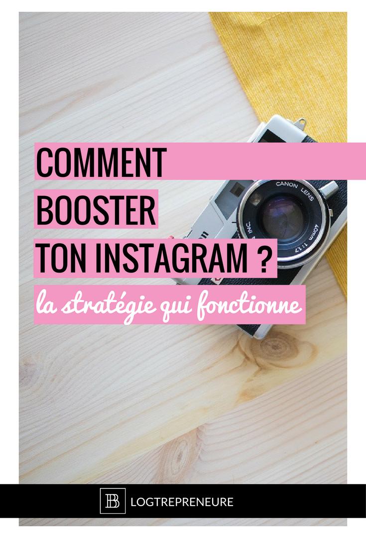 comment booster ton instagram ? La stratégie qui fonctionne