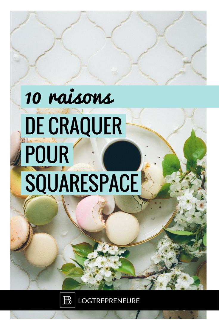10 raisons de craquer pour squarespace
