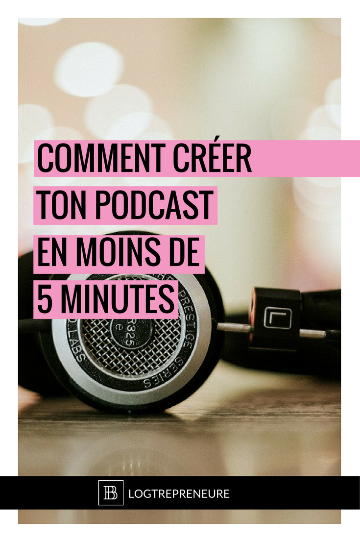 comment creer ton podcast en moins de 5 minutes avec l'application Anchor