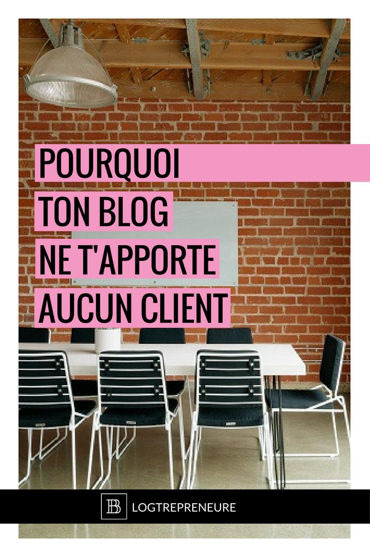 Tu as beau publier de nouveaux articles régulièrement rien n'y fait, aucun nouveau client à l'horizon ? J'ai pour toi quelques raisons qui peuvent expliquer ça #blogging #blog #blogue #entreprise #entrepreneuse #entrepreneure