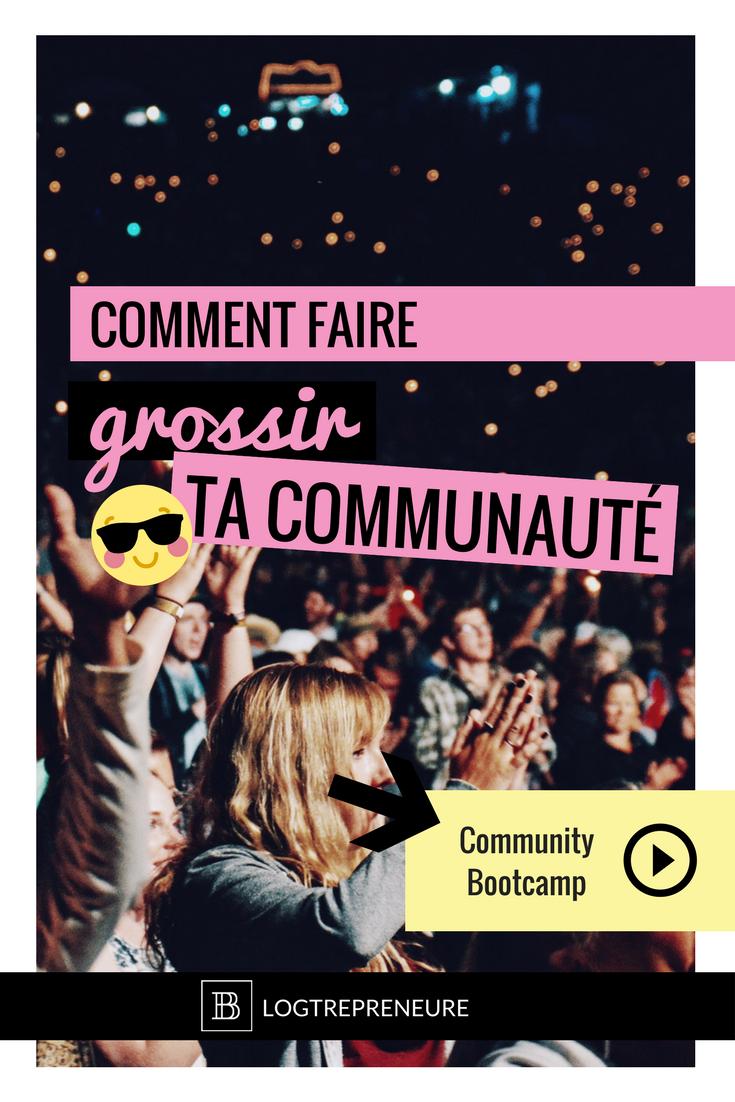 comment faire grossir sa communauté en ligne