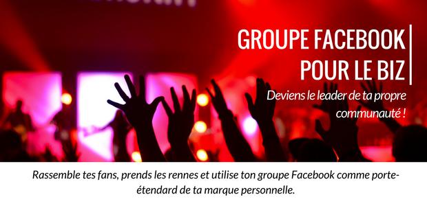 groupes facebook pour le biz