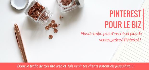 Pinterest pour ton entreprise formation