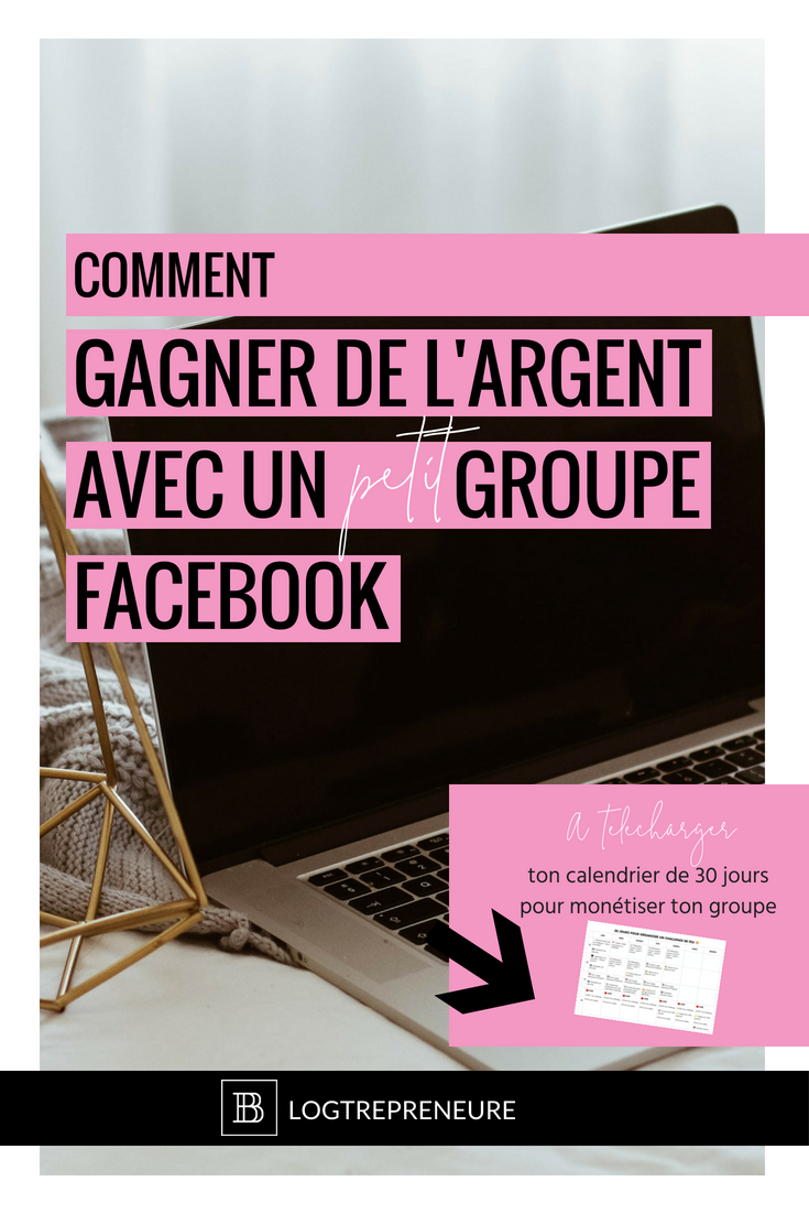Comment gagner de l'argent avec un petit groupe Facebook