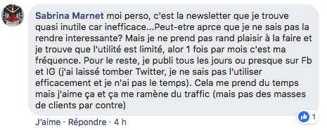 efficacité newsletter