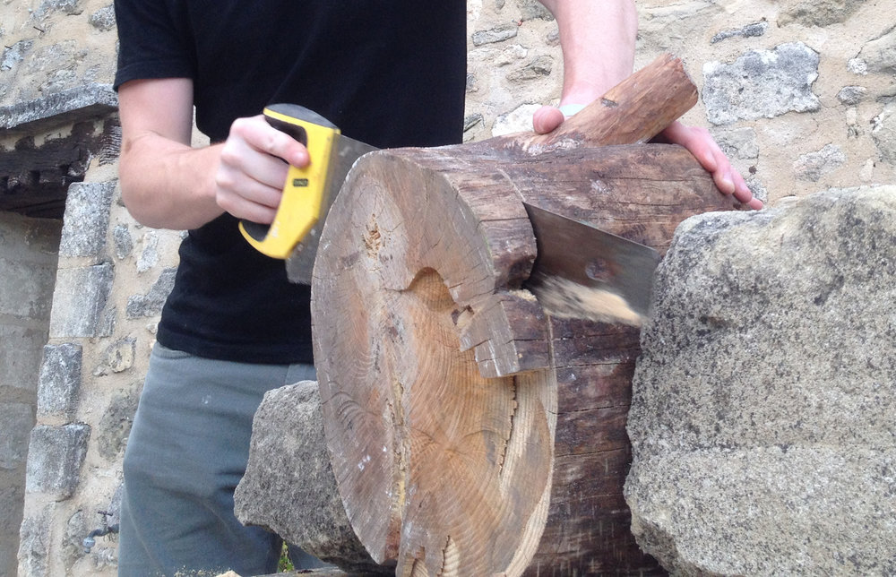 esker-stool-log-nicholas-baker
