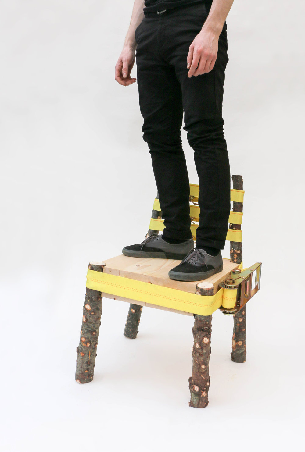 strap-chair-standing-nicholas-baker