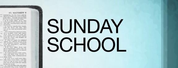 Sunday school Classes Resume! — Oak Hill Church