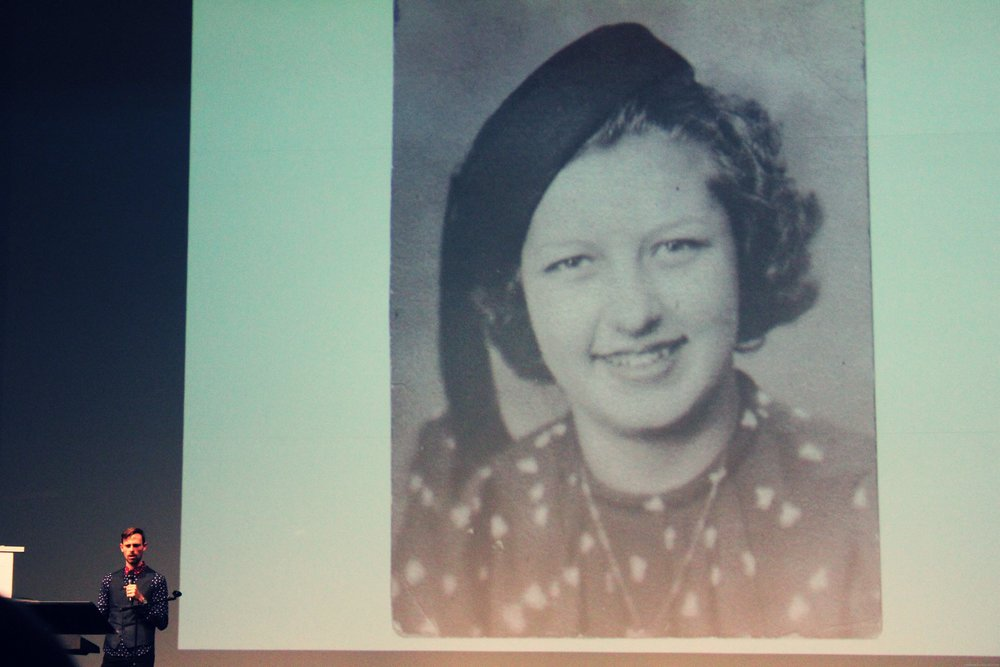 """on the back of the photo was written: """"Dorothy Shaw, Chicago, age 15, died of leukemia."""""""