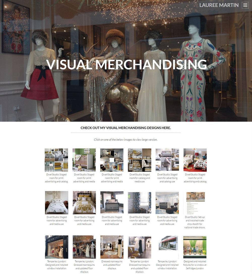 subpage: visual merchandising