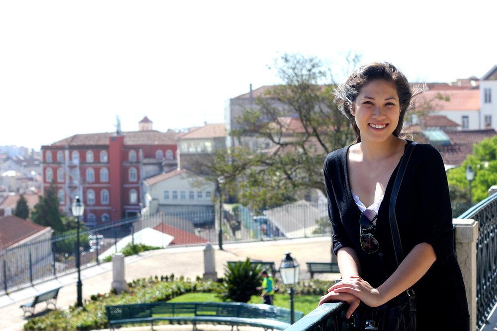Me in Lisbon