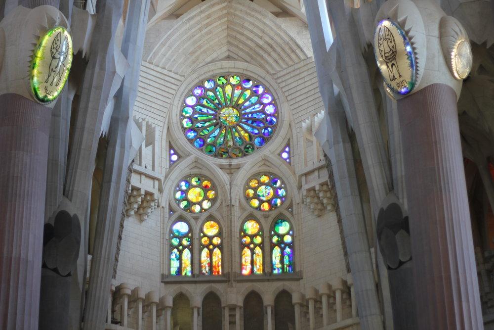 Inside La Sagrada Família