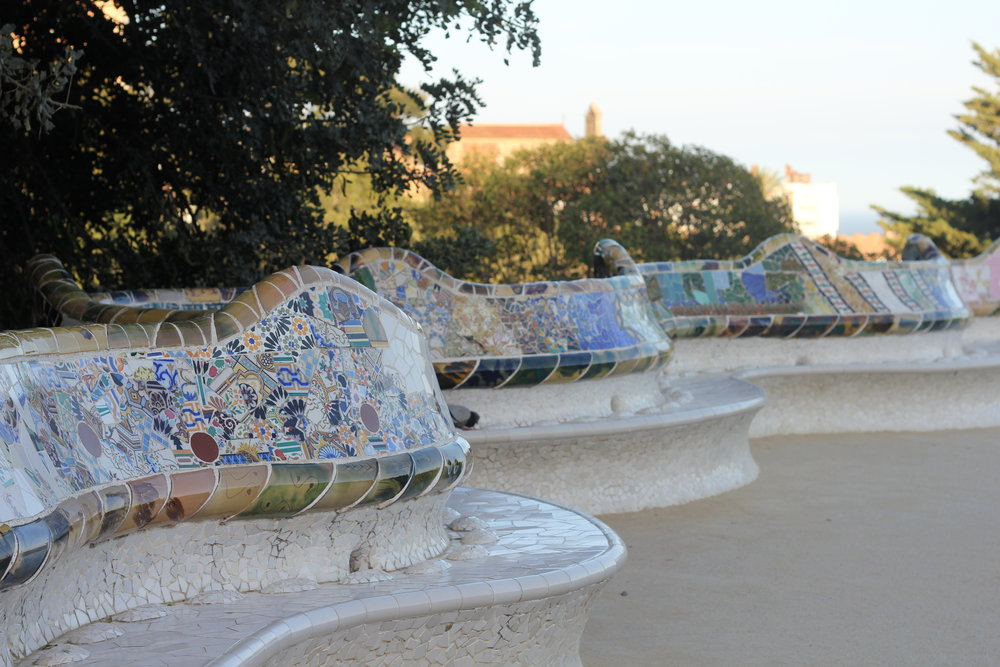 Up in Park Güell