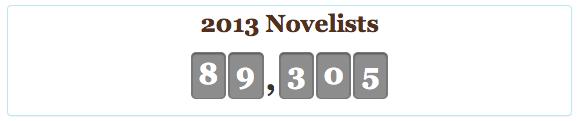 NaNo 2013 Novelists