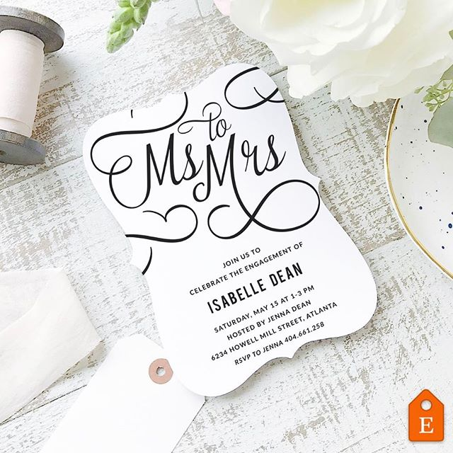 We ❤️ the Everly Paper compatible templates that @swellandgrand has been adding to their shop. So pretty!  #diywedding #diyweddings #papercraft #paperlove #printables #printable #imadethis #bridalshower