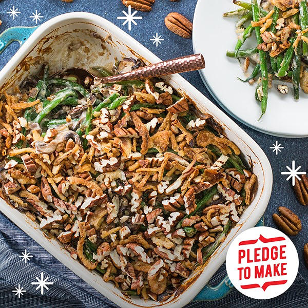 It's time to #Pecanathon!! Support American Pecan Farmers this holiday season and #PledgePecans. Just put one more pecan dish on your table tomorrow to help a farmer out. #client @americanpecan