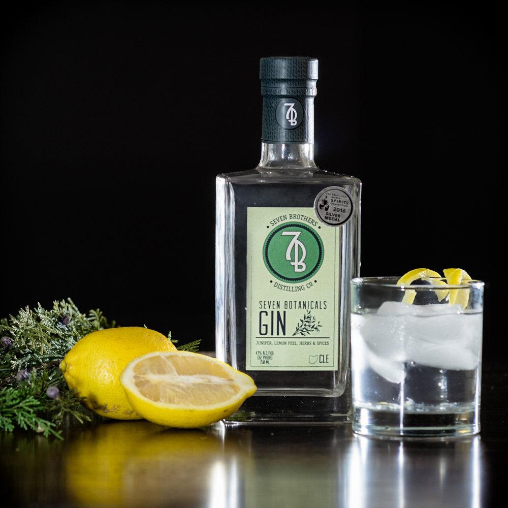 Seven Botanicals Gin