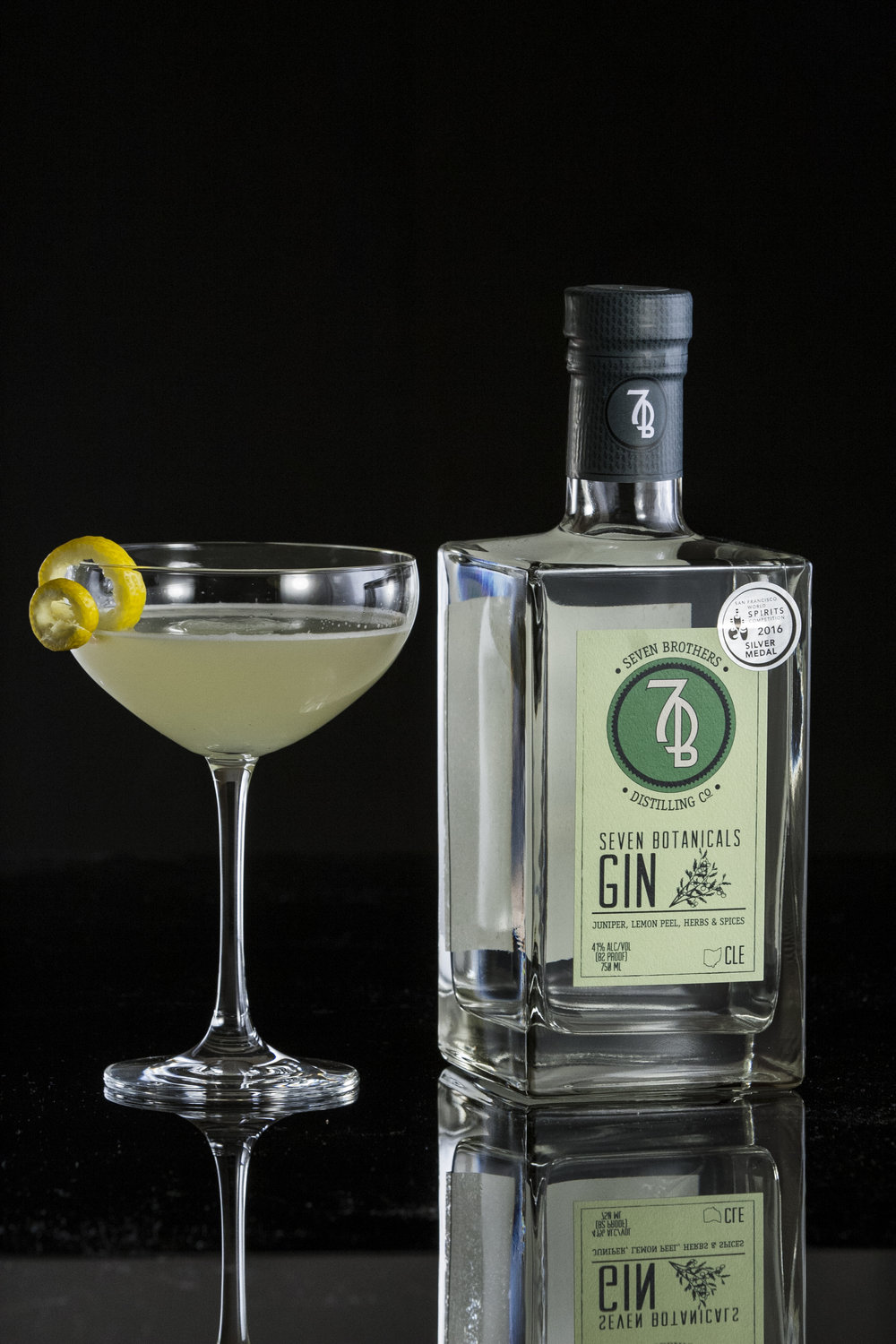 7 BEES KNEES - 2 oz Seven Brothers Seven Botanicals Gin.75 oz Lemon Juice.75 oz Honey SyrupShake ingredients over ice and strain into a chilled Coupe.