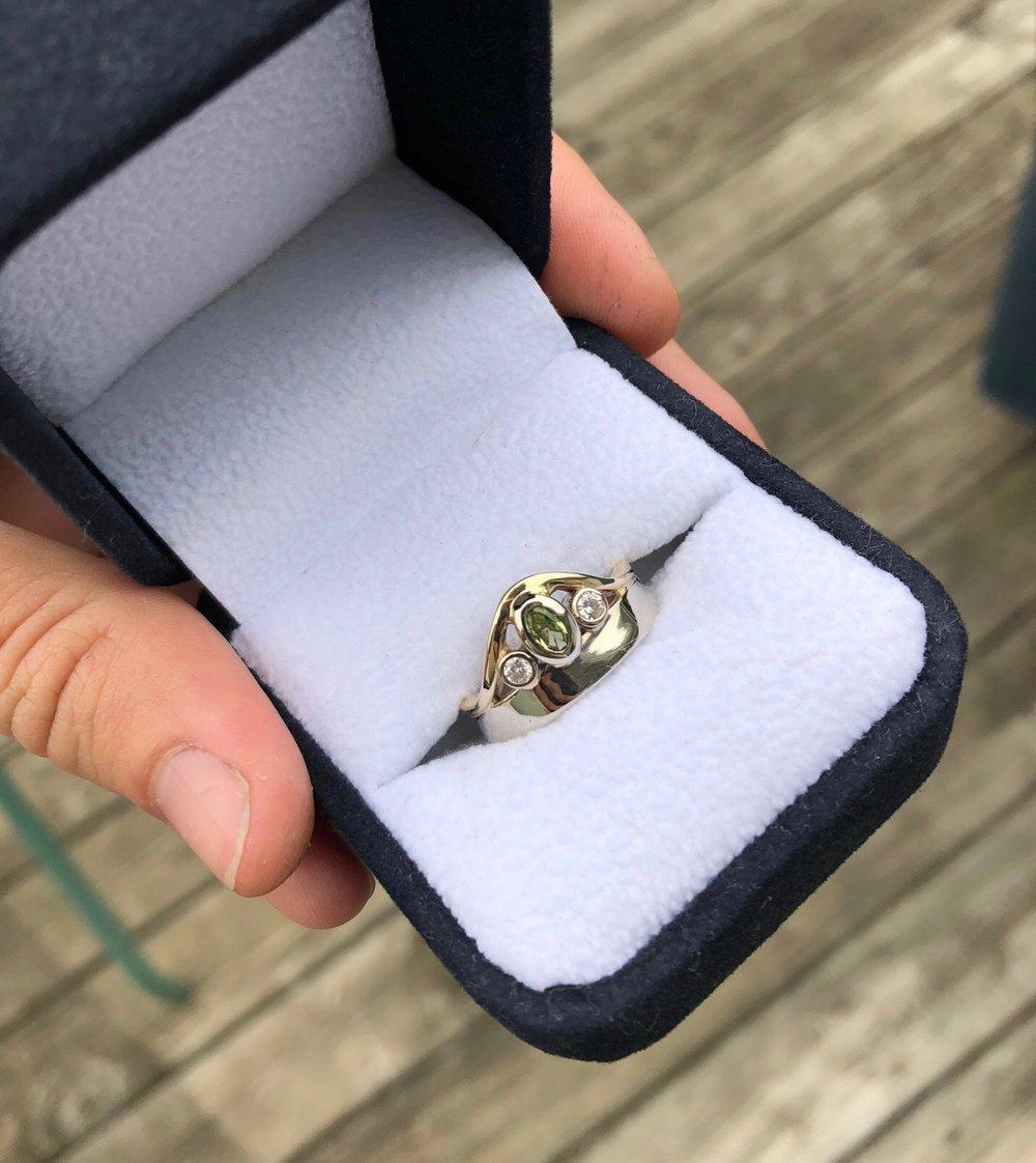 Peridot Ring 1