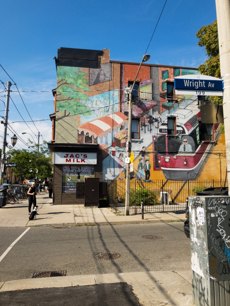 Roncesvalles Avenue Mural