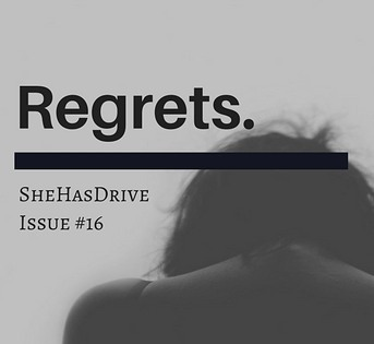 What do you regret?⠀ ⠀ In this issue, contributors and our own editor, Jill, explore regret and how why this matters. Read more on the site (link in bio). . . . . .  #noregrets #ourstories #writing #writersofinstagram #regret #livingwithregrets #shehasdrive #nastywoman #ShePersisted #quotesgram #inspirationalquote #quotesforlife #inspirationalquotes #quoteofthenight #quotestoliveby #quotesaboutlifequotesandsayings #quotestagram #quotesaboutlove #quotesoftheday #quotesforyou #quoteofday #quoteoftheweek #dailyquotes #quotefortheday