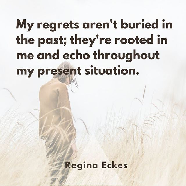 "Our regrets are part of who we are. They follow us every day. Read Regina's essay ""Unexpected Regrets"" and how she's facing those regrets on the site (link in bio). . . . . #regret #feministasfuck #feministaf #ourstories #ourvoice #quoteofday #quotestoliveby #shehasdrive #intersectionalfeminism #intersectionality #inclusivefeminism #womensissues #nastywoman #ShePersisted #imwithher #yesallwomen #whatsyourstory #livingwithregrets"