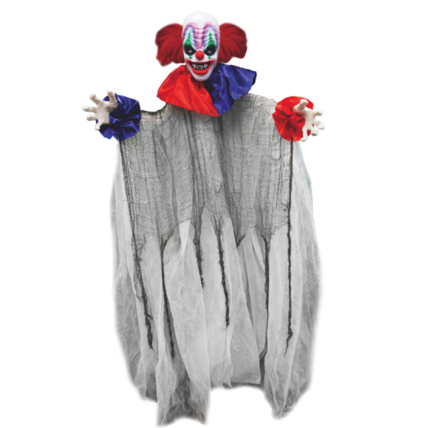 V30654 ITSY THE CLOWN -Hanging and Spinning Clown