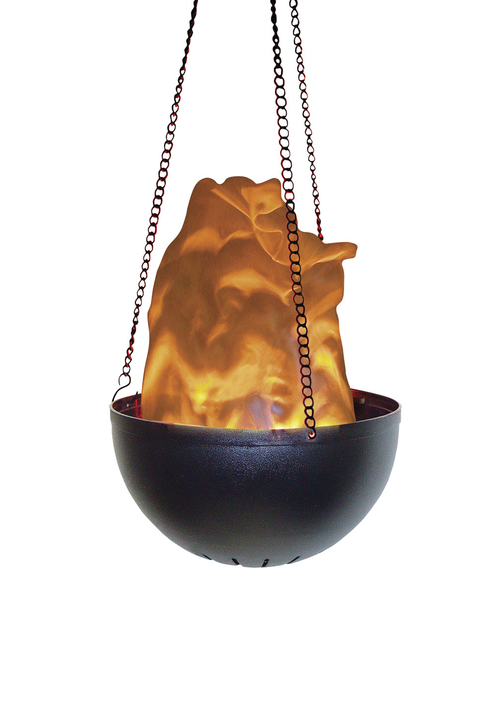 V0106C  HANGING MINI FLAME  -Hanging Flame Effect with 2Bulbs