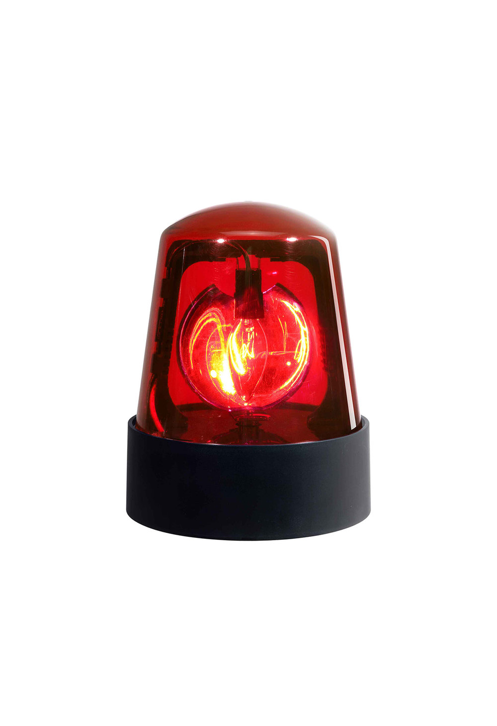 "PL-1R 7"" POLICE BEACON - Red Dome"