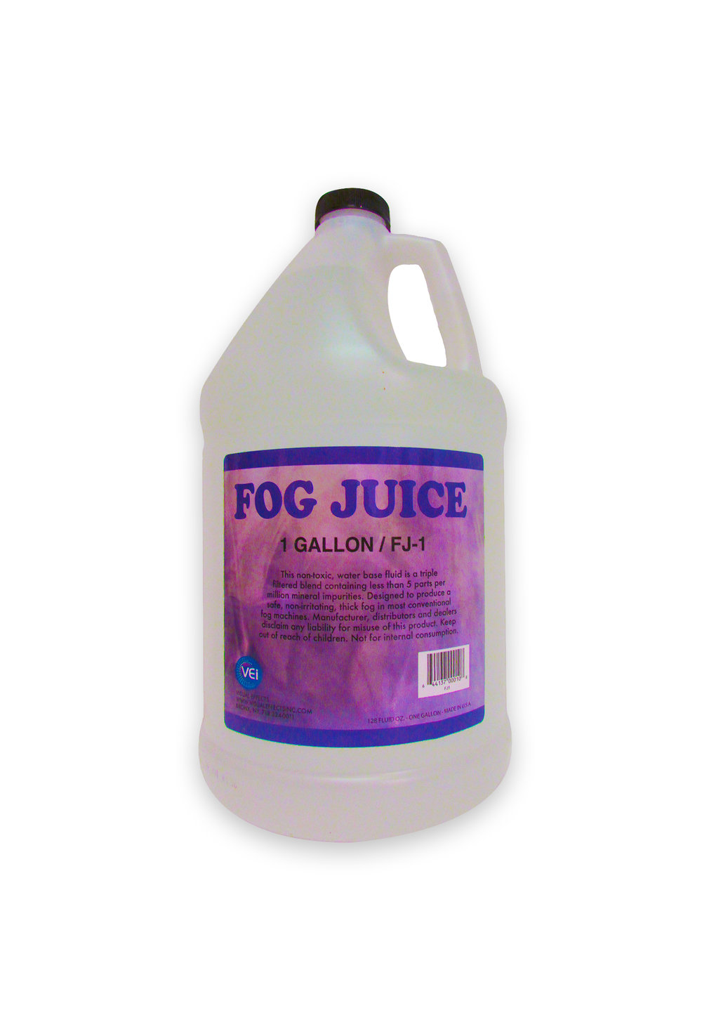 FJ-1  FOG FLUID(UNSCENTED)  Gallon