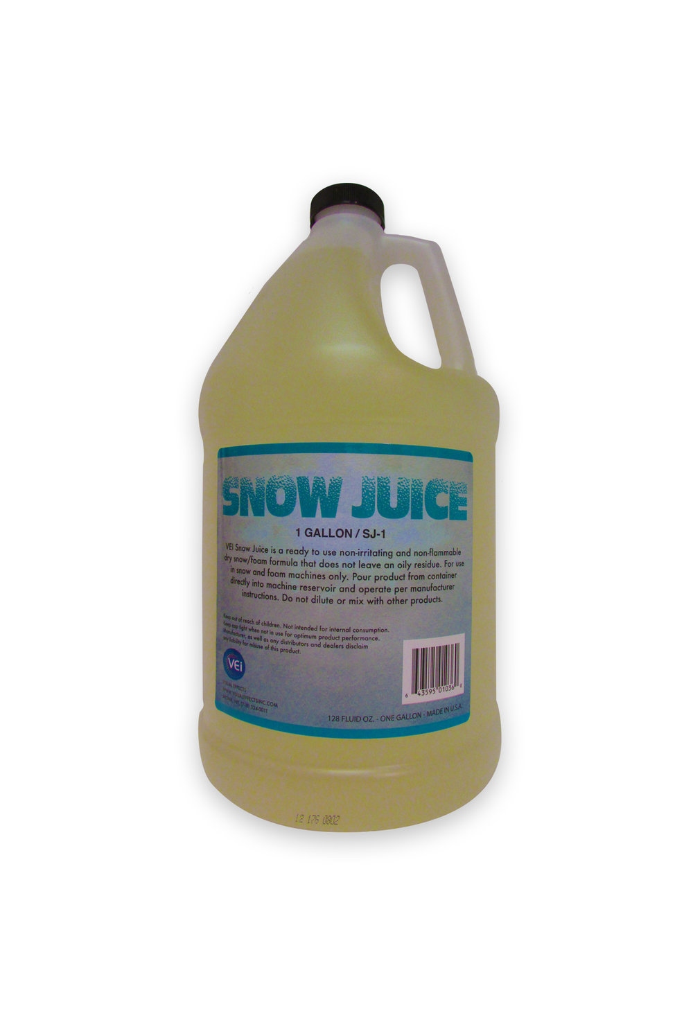 SJ-1  SNOW JUICE  Gallon  For use with the V-980 Mini Snow Blower Packaged in gallon containers.                             -  Made In USA