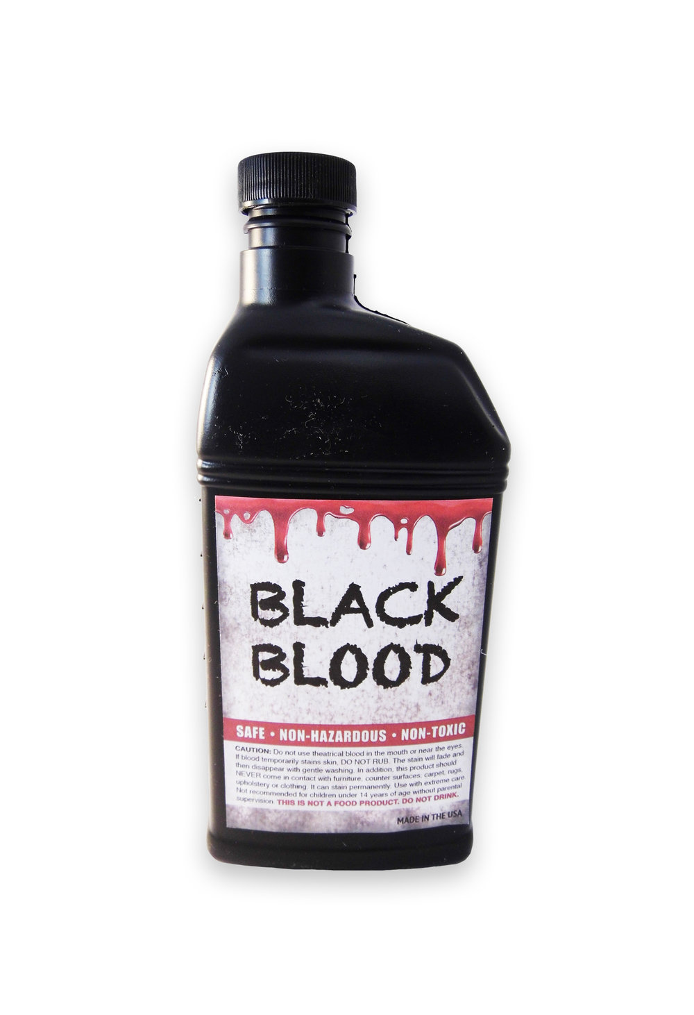 BLZ-P  ZOMBIE BLACK BLOOD  Available in Pints Only           -  Made In USA