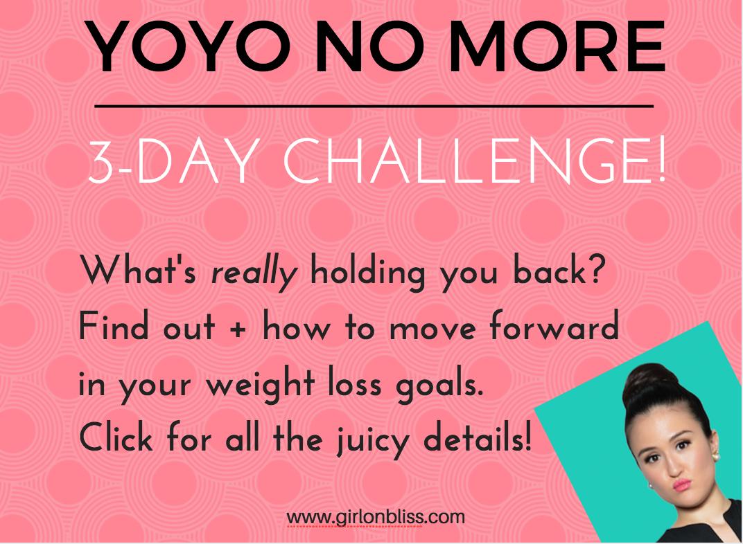 YOYO NO MORE 3-Day Challenge