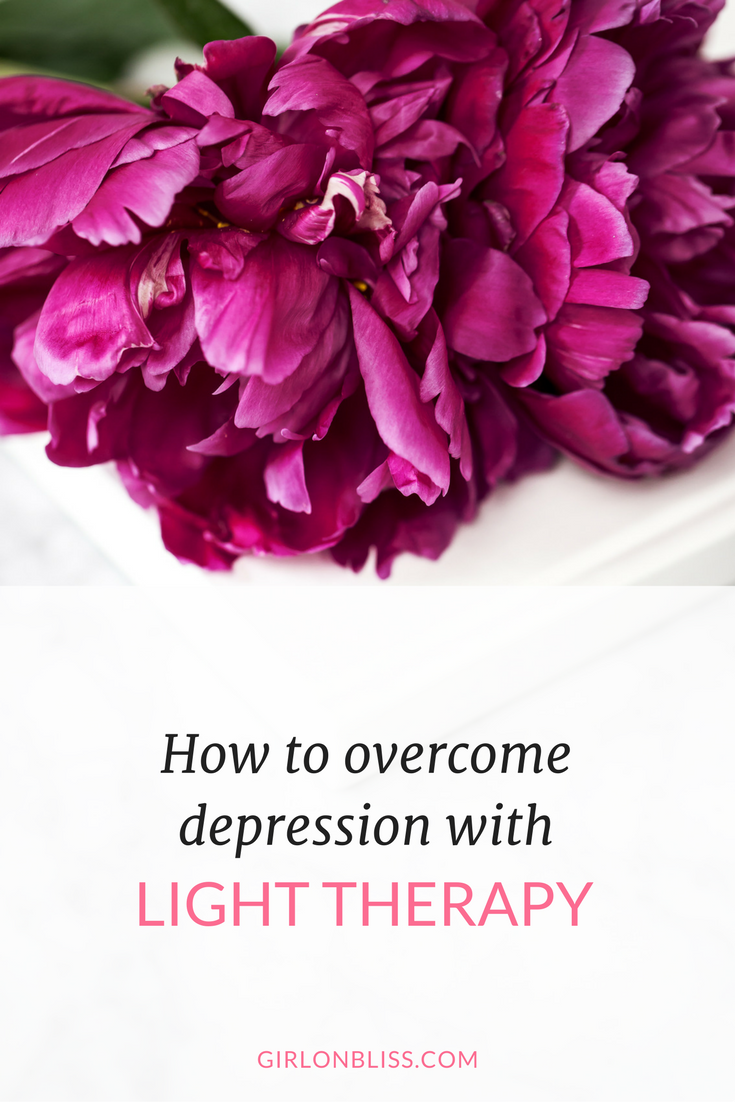 Overcome Depression with Light Therapy